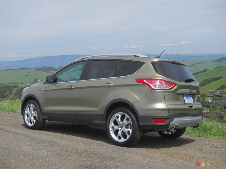 2013 ford escape first impressions editor 39 s review car news auto123. Black Bedroom Furniture Sets. Home Design Ideas