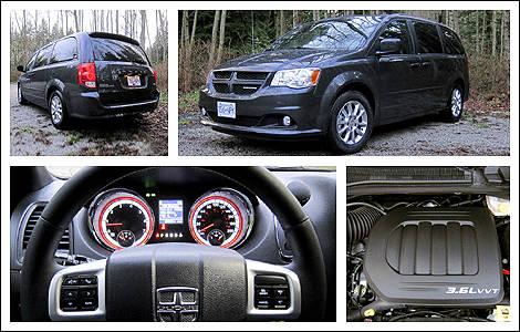 2012 dodge grand caravan r t review car news auto123. Black Bedroom Furniture Sets. Home Design Ideas
