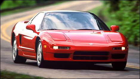 1993 Acura NSX front 3/4 view