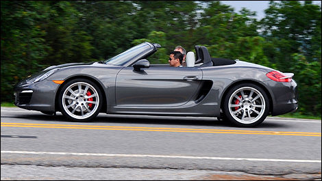 2013 Porsche Boxster S right side view