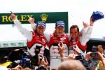 24 Heures du Mans: L'album photos de la victoire historique de l'Audi hybride (+photos)