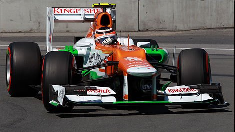 Sahara Force India F1 Nico Hulkenberg