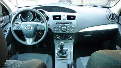 2012 Mazda3 GS-SKY dashboard