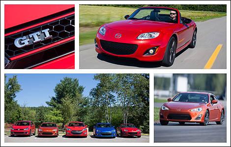 essai comparatif de voitures sport compactes 2012 sur la. Black Bedroom Furniture Sets. Home Design Ideas