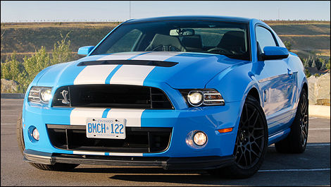 Ford Mustang Shelby GT500 2013 vue 3/4 avant