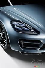Porsche Panamera Turismo Concept at Paris