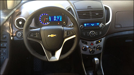 Chevrolet Trax dashboard