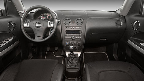 2009 Chevrolet HHR dashboard