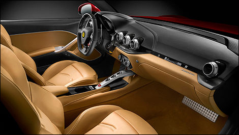 2013 Ferrari f12berlinetta interior