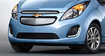 2014 Chevrolet Spark EV makes electrifying debut in L.A.