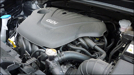 2012 Kia Rio SX Sedan engine