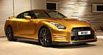 ''Bolt Gold'' Nissan GT-R sold for charity
