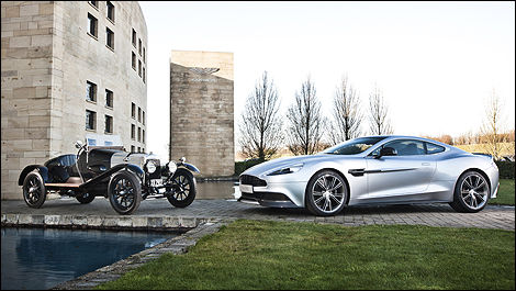 Aston Martin ready to celebrate 100 years