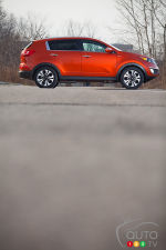 2013 Kia Sportage SX Review