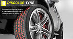 Is ''Discolor Tyre'' next big thing in tire safety?