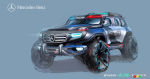 Mercedes-Benz Ener-G-Force concept is mean and green