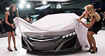 Acura NSX Concept interior revealed!