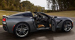 Chevrolet auctions off 2014 Corvette Stingray No. 0001
