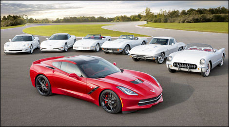 Chevrolet Corvette 2014 Stingray