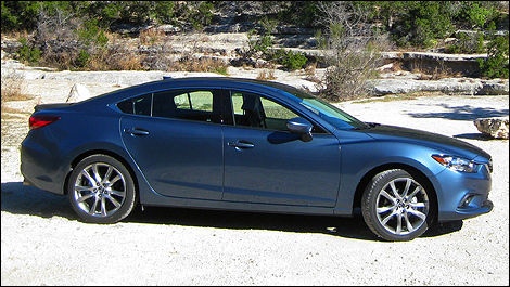 2014 Mazda6 side view