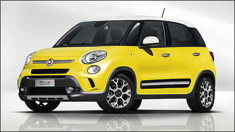 world premiere of fiat 500l trekking in geneva car news auto123. Black Bedroom Furniture Sets. Home Design Ideas