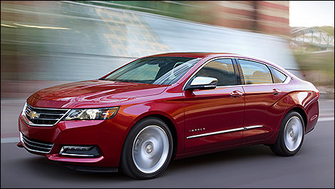 2014 Chevrolet Impala side view