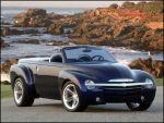 GOODYEAR EAGLE PERFORMANCE TIRES STAR ON CHEVROLET SSR