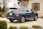 Nissan Pathfinder Hybrid makes debut in New York