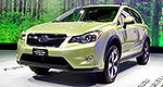 Subaru launches XV Crosstrek Hybrid and WRX Concept in N.Y.