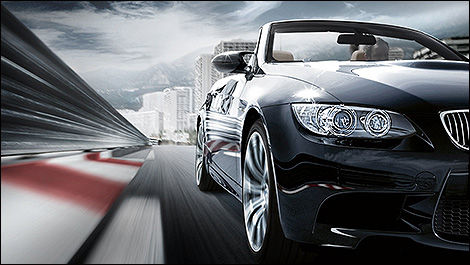 2013 BMW M3 Cabriolet  3/4 view
