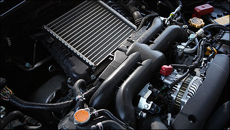 2013 Subaru Impreza WRX Sedan engine