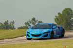 Acura NSX: Successful lap at Mid-Ohio