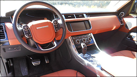 Land Rover Range Rover Sport 2014 habitacle