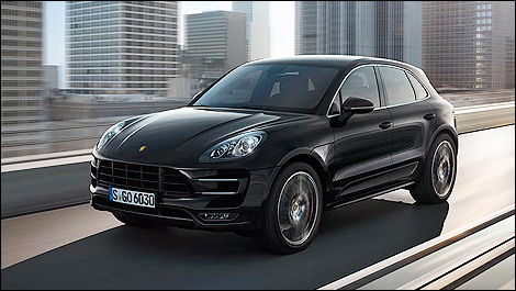 porsche a d voil son vus macan los angeles actualit s automobile auto123. Black Bedroom Furniture Sets. Home Design Ideas