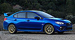 First pictures of 2015 Subaru WRX STI