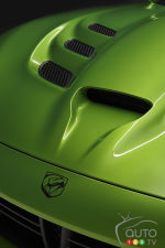 Detroit 2014: The green side of SRT Viper