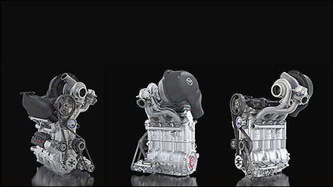 Nissan gets 400 horsepower from 3-cylinder turbo engine