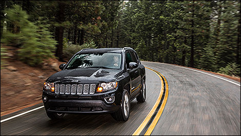 2014 Jeep Compass Limited 3/4 view