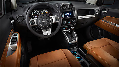 2014 Jeep Compass Limited cabin