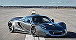 Hennessey Venom GT breaks world speed record (video)