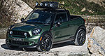 MINI Paceman turned into... a pick-up?