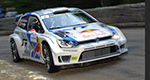 Rally: Jari-Matti Latvala leads after Day 1 in France