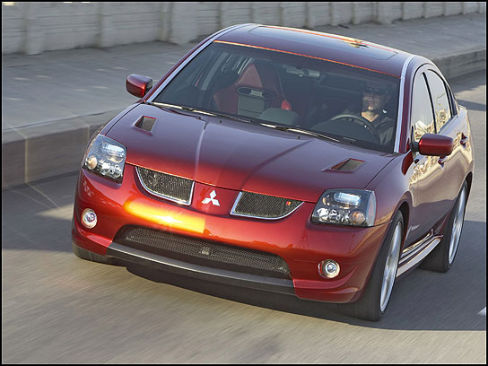2004 Mitsubishi Galant Ralliart Concept Stampede Leasing