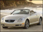 Cosmetic change and new tranny for Lexus SC 430
