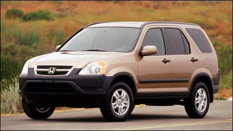 2002 2006 honda cr v pre owned car news auto123 for Preowned honda crv