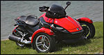 2008 Can-Am Spyder Review (video)