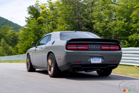 A Dodge Challenger Hellcat Hybrid As Of Next Year Motor Sport Hq