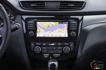 2020 Nissan Qashqai, multimedia system