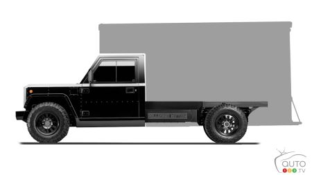 Bollinger B2CC, with box silhouette
