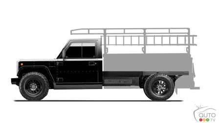Bollinger B2CC, with ladder silhouette